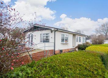 Thumbnail 2 bedroom mobile/park home for sale in East Hill Park, Knatts Valley, Sevenoaks, Kent