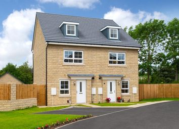 "Thumbnail 3 bedroom semi-detached house for sale in ""Kingsville"" at Belton Road, Silsden, Keighley"