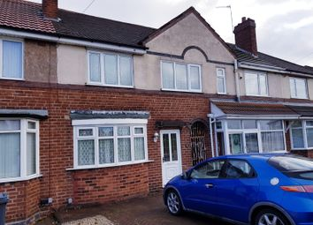 Thumbnail 3 bed terraced house to rent in Stowell Road, Kingstanding, Birmingham