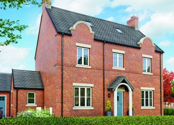 Thumbnail 5 bedroom detached house for sale in The Dovecote, Moira, Leicestershire