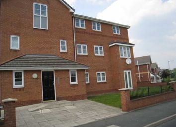 Thumbnail 2 bed flat for sale in Livingston Avenue, Wythenshawe, Manchester