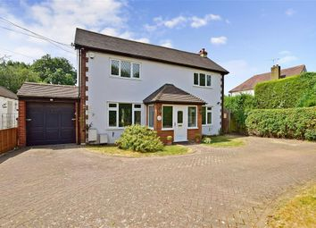 Thumbnail 4 bed detached house for sale in Fawkham Road, West Kingsdown, Sevenoaks, Kent