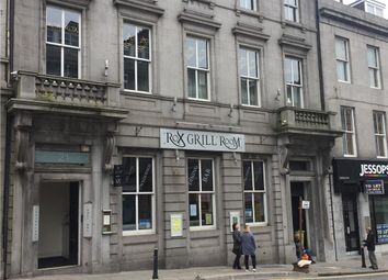 Thumbnail Leisure/hospitality for sale in Rox Grill Room, 23 Market Street, Aberdeen