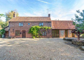 Thumbnail 4 bed detached house for sale in Holt Road, Little Snoring, Fakenham