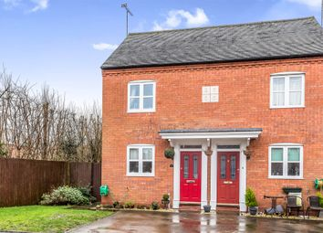 Thumbnail 2 bed semi-detached house for sale in Abbey Road, Rocester, Uttoxeter