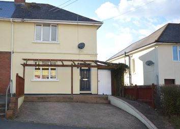 Thumbnail 2 bed semi-detached house for sale in School Lane, Newton Poppleford, Sidmouth, Devon