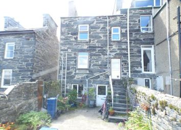 Thumbnail 2 bed end terrace house for sale in Dora Street, Porthmadog, Gwynedd