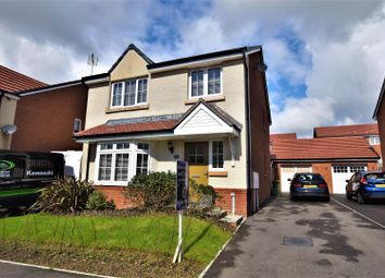 Thumbnail 4 bed detached house for sale in Brynteg Green, Beddau