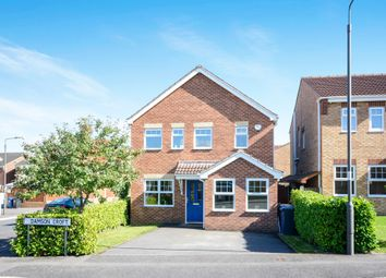 Thumbnail 3 bed detached house for sale in Damson Croft, Hollingwood, Chesterfield