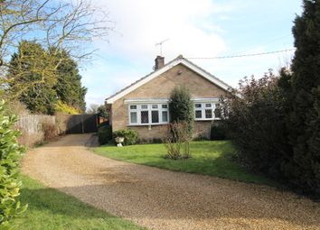 Thumbnail 3 bed detached bungalow for sale in Eldo Road, West Row, Suffolk