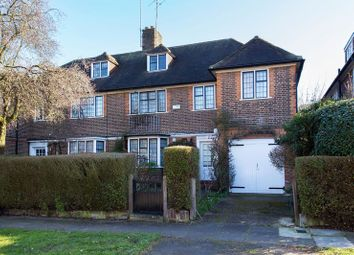 Thumbnail 4 bed semi-detached house for sale in Milton Close, Hampstead Garden Suburb