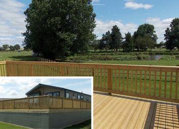 Thumbnail 2 bed mobile/park home for sale in Thorpe Farm Caravan Park, Greta Bridge, Barnard Castle
