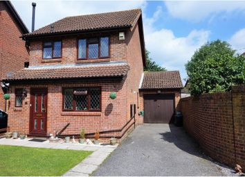Thumbnail 3 bed link-detached house for sale in Roundhouse Drive, West Totton, Southampton