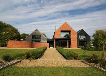 Thumbnail 5 bedroom detached house for sale in Wymondham Road, Crownthorpe, Wicklewood, Wymondham