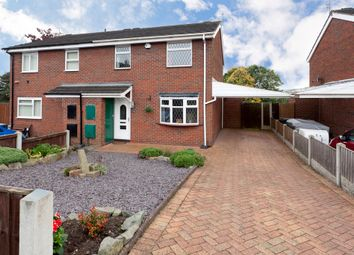 Thumbnail 3 bed semi-detached house for sale in Palatine Drive, Chesterton, Newcastle-Under-Lyme
