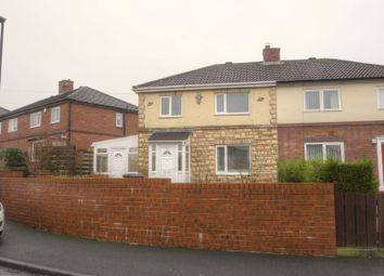 Thumbnail 3 bedroom semi-detached house for sale in Brampton Gardens, Throckley, Newcastle Upon Tyne