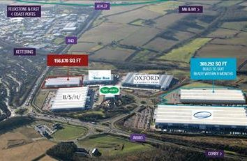 Thumbnail Warehouse to let in Prologis Park, Zone A, Plot 2, Hipwell Road, Kettering, Northants