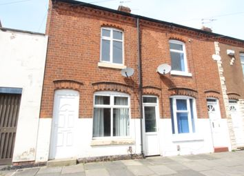 Thumbnail 2 bedroom end terrace house to rent in Vernon Road, Leicester
