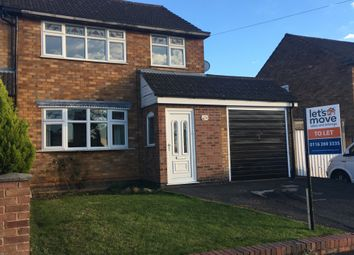 Thumbnail 3 bed semi-detached house to rent in Homefield Rd, Sileby