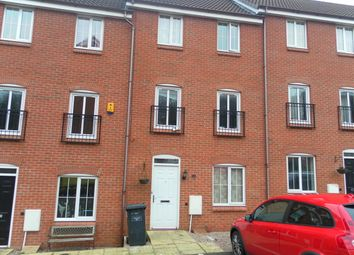 Thumbnail 4 bed town house to rent in Chervil Close, Clayton, Newcastle Under Lyme, Staffordshire