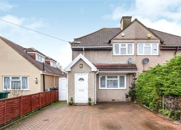 Thumbnail 4 bed semi-detached house for sale in Desford Way, Ashford, Surrey