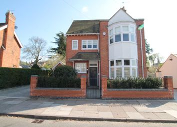 Thumbnail 5 bed detached house for sale in Knighton Church Road, South Knighton, Leicester