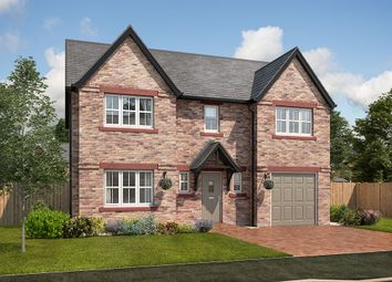 "Thumbnail 4 bed detached house for sale in ""Balmoral"" at School Road, Cumwhinton, Carlisle"