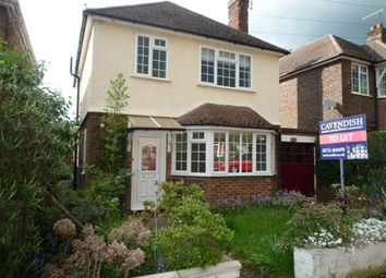Thumbnail 3 bed detached house to rent in Lambarde Drive, Sevenoaks