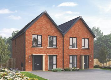 "Thumbnail 3 bed semi-detached house for sale in ""The Kilmington"" at Stopes Road, Stannington, Sheffield"