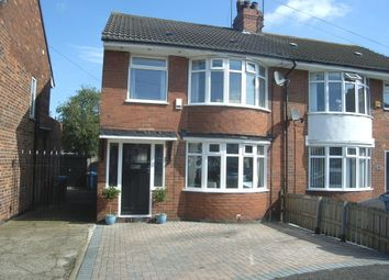 Thumbnail 3 bed semi-detached house for sale in Strathmore Avenue, Hull
