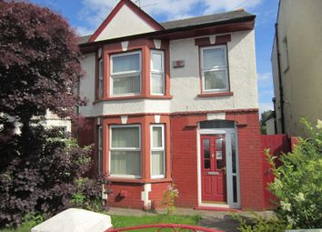 Thumbnail 3 bedroom end terrace house for sale in Cowbridge Road West, Ely, Cardiff