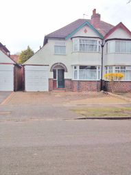 Thumbnail 3 bedroom semi-detached house to rent in Bushmore Road, Birmingham