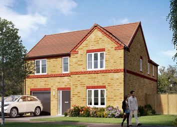"Thumbnail 4 bedroom detached house for sale in ""The Norbury"" at Carr Green Lane, Mapplewell, Barnsley"