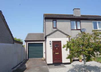 Thumbnail 3 bed semi-detached house for sale in Trethannas Gardens, Praze-An-Beeble