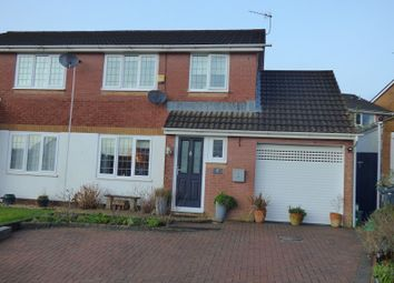 Thumbnail 3 bed semi-detached house for sale in Golwg Y Mynydd, Bryncoch, Neath .