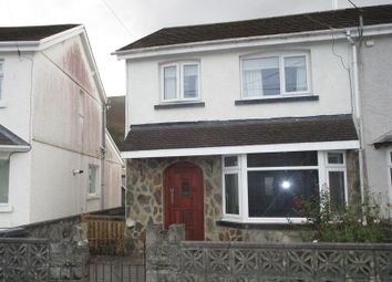 Thumbnail 3 bed semi-detached house for sale in Tudor Street, Ystradgynlais, Swansea.