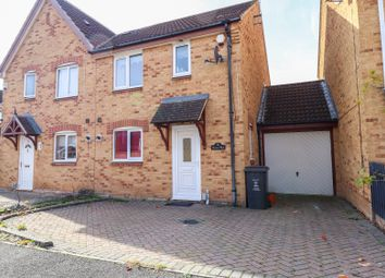 Thumbnail 3 bed semi-detached house for sale in Darius Way, Swindon