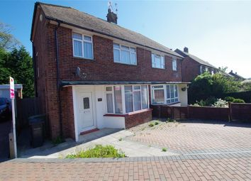 Thumbnail 3 bed semi-detached house for sale in Grangecourt Drive, Bexhill-On-Sea