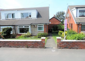 Thumbnail 2 bed semi-detached bungalow for sale in Broadway, Chadderton, Oldham