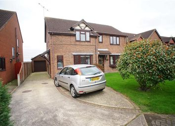 Thumbnail 3 bed semi-detached house for sale in The Meadows, Messingham, Scunthorpe