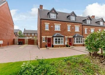 Thumbnail 4 bed town house for sale in Kings Drive, Kingmoor Park South, Carlisle