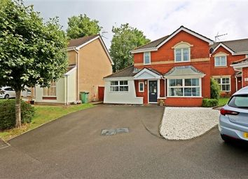 Thumbnail 4 bed detached house for sale in Llys Fach, Church Village, Pontypridd