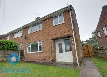 Thumbnail 3 bed semi-detached house for sale in Glenside, Kirkby-In-Ashfield, Nottingham