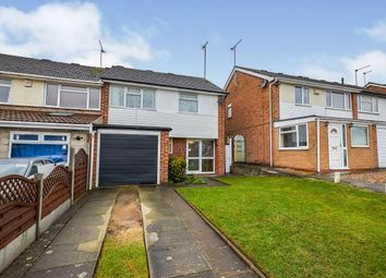 Thumbnail 3 bedroom semi-detached house for sale in Wroxall Way, Leicester