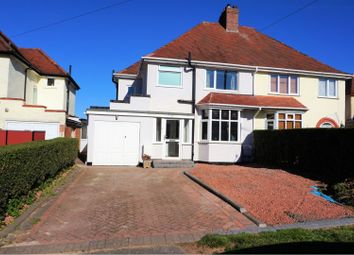 Thumbnail 3 bed semi-detached house for sale in Rednal Hill Lane, Birmingham