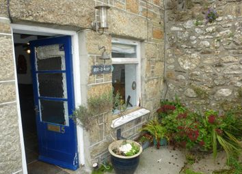 Thumbnail 1 bed end terrace house for sale in Franwill Cottages, Church Street, Newlyn, Penzance