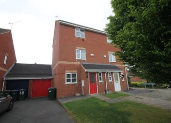 Thumbnail 3 bed semi-detached house for sale in Witnell Road, Daimler Green, Coventry