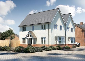"Thumbnail 3 bed semi-detached house for sale in ""The Staunton"" at Pershore Road, Evesham"