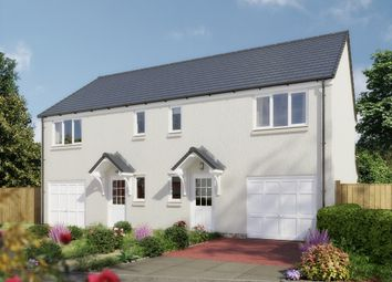 "Thumbnail 3 bed semi-detached house for sale in ""The Newton V5 Dewar Park"" at Whitehouse Gardens, Gorebridge"