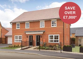 """Thumbnail 3 bedroom semi-detached house for sale in """"Maidstone"""" at Musselburgh Way, Bourne"""